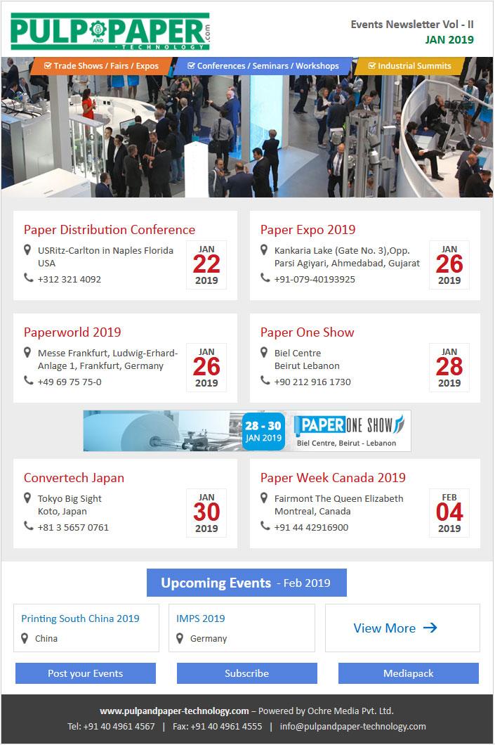 Jan-19 Event Newsletter Vol-2