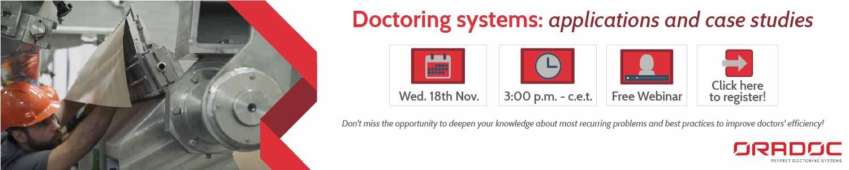 Webinar on Doctoring Systems - Oradoc