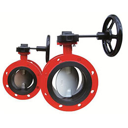 double flanged butterfly valves series 900f