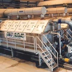 ALGAS Microfilters replace effluent settling basins