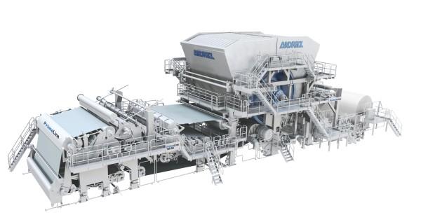 PrimeLineTM tissue machine