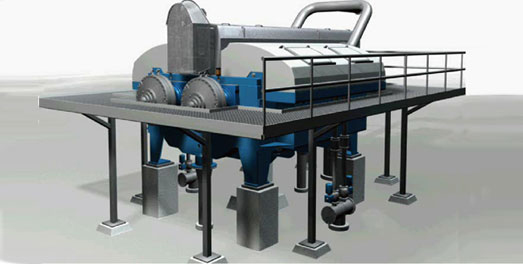 Twin Roll Press (Pulp Bleaching Equipment)