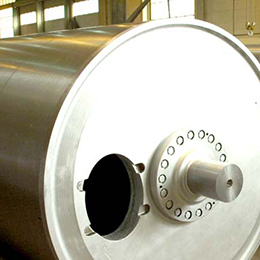 welded steel plate dryer cylinder