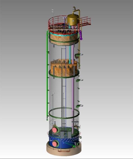 Expanded Granular Sludge Blanket Reactor (EGSB)