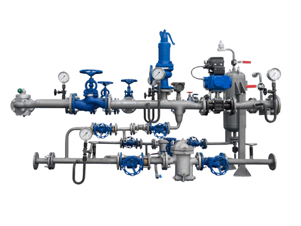 Industrial process water treatment