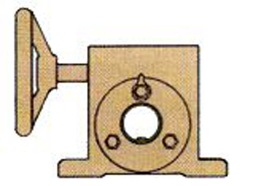 Bow Angle Adjusting Bow Roll Gearbox