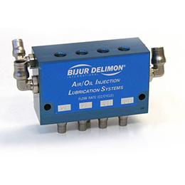 air-oil injector block