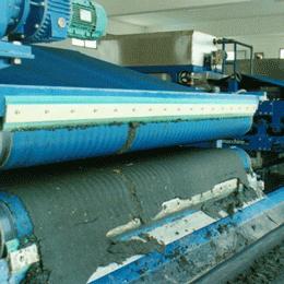 sludge dewatering-belt presses