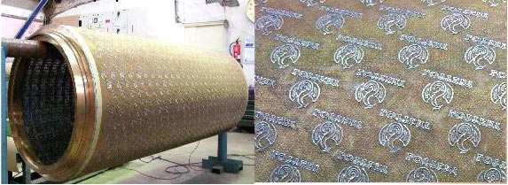 Plate Laid Dandy Rolls Industrial Equipment And Systems