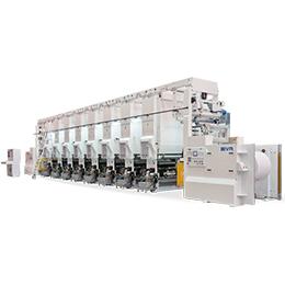 biva rotogravure printing machine