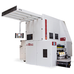 e-rdc three stage rotary die cutter with independent motors