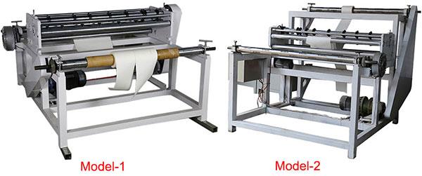 Filter paper slitting machine