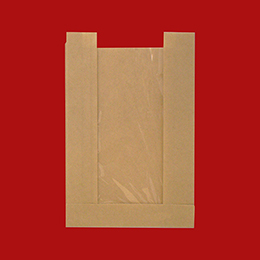 Panel Pastry Bag with PET Window