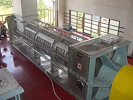 ABS resin dewatering screw press