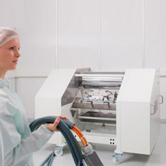 Laboratory coating machines