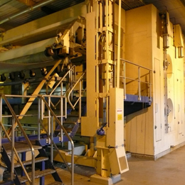Pulp Drying and Wet Lap machines - Used machinery for paper and pulp industry
