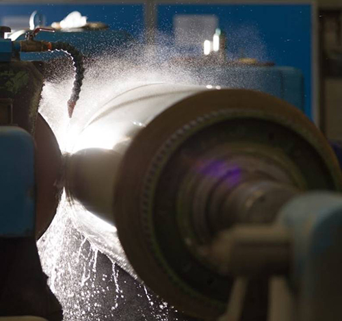 Precision roller grinding