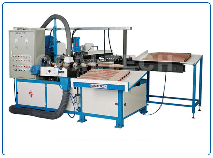 Automatic Cone Finishing Machine