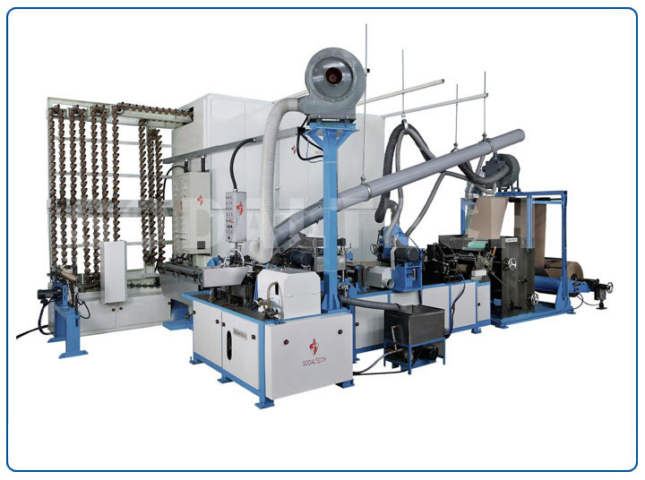 Automatic Cone Making Machine With Cone Drier