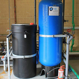 WATER SOFTENING WITH ION EXCHANGE