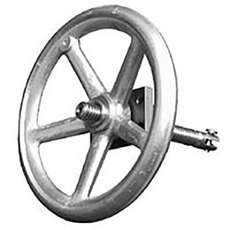 Handwheel drive type H