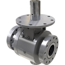 t-series trunnion-mounted ball valve