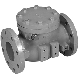 SWING TYPE GRAVITY OPERATED CHECK VALVE
