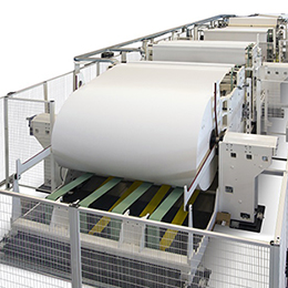 asv line automatic interfolding line