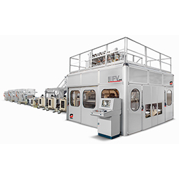 fv line tissue converting line for napkins and dispenser napkins