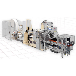 tv 503 line tissue converting line for napkins and placemats