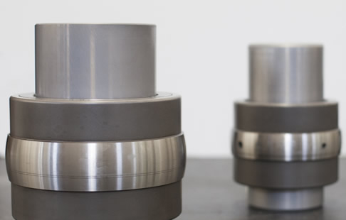 Special self-aligning ball bearing supports