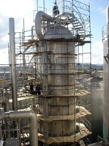Peroxide reactor