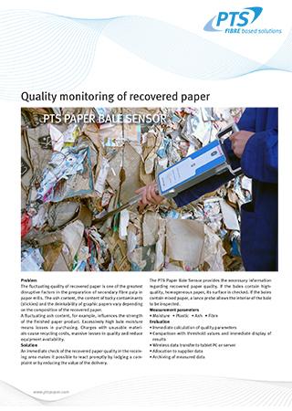 PTS Paper Bale Sensor