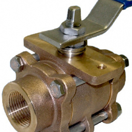 2-way industrial ball valves