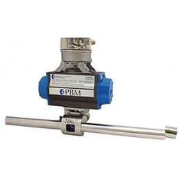 zero dead leg true bore valves