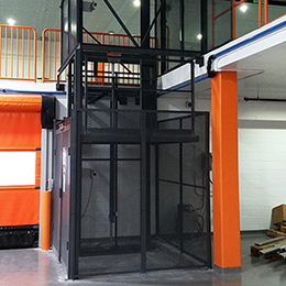 hydraulic vertical lifts-d series