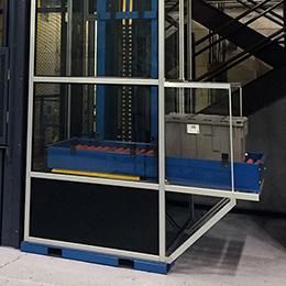 package handling lifts-db series