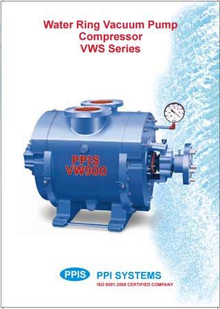 Water Ring Vacuum Pump Compressor VWS Series