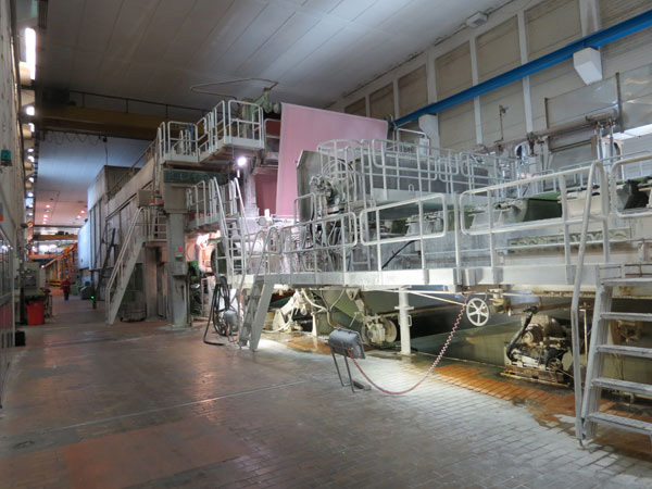 Fourdrinier Paper Machine