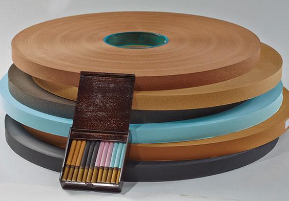 Colored cigarette paper