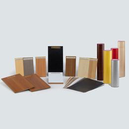 Decorative paper foil for furniture and interior