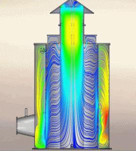 Radial Flow system