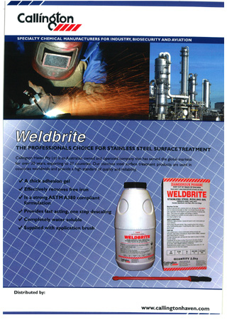Weldbrite Pickling Gel
