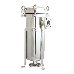 dhd series stainless steel filter housing