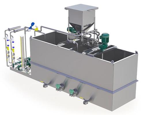 Polymer Makeup Unit Water Treatment