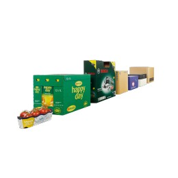 Corrugated board packaging
