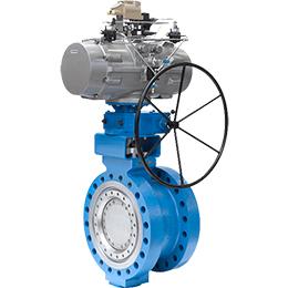 ltr43-triple offset butterfly valve
