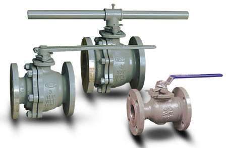 Flanged Floating Ball Valves - B16.34