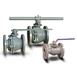 flanged floating ball valves-b16-34