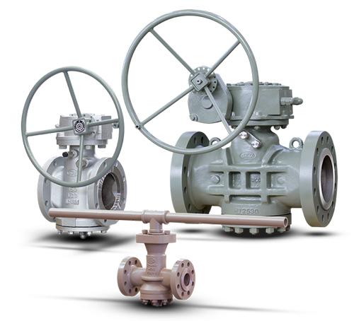 Pressure Balanced Lubricated Plug Valves - API 6D
